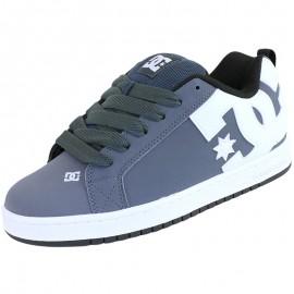 Chaussures Court Graffik Skateboard Gris Homme DC Shoes