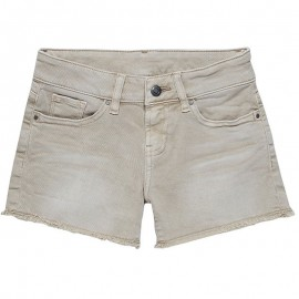 Short Denim SPARROW Beige Fille Teddy Smith
