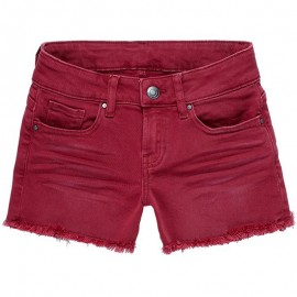 Short Denim SPARROW Bordeaux Fille Teddy Smith