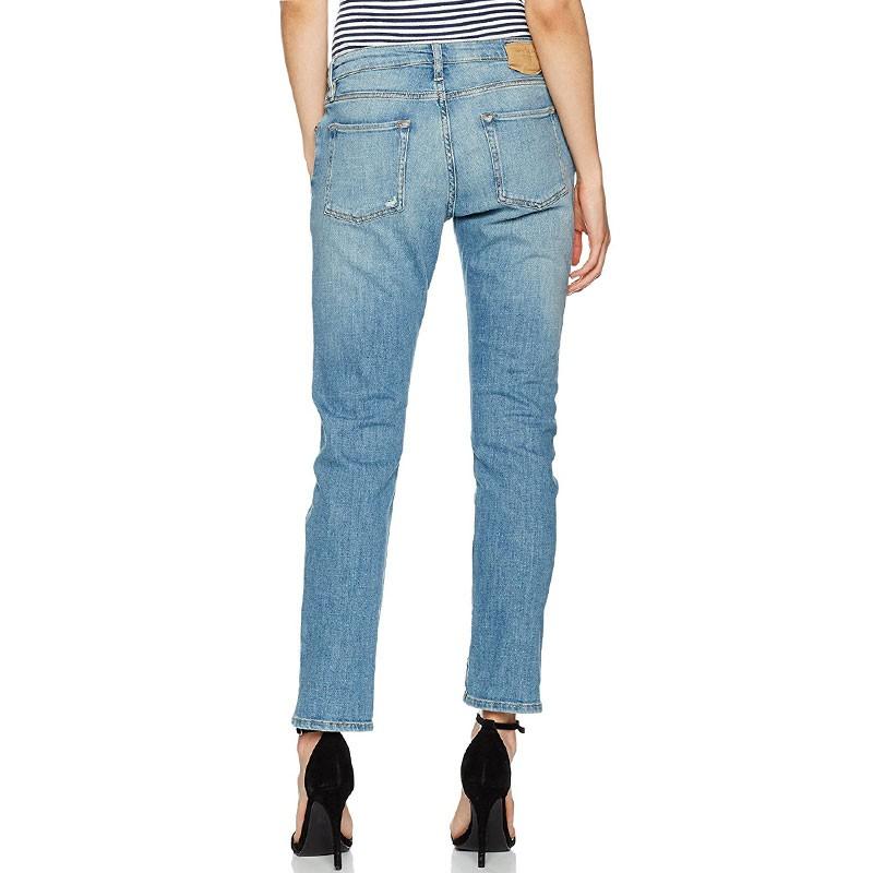 jean dude loose bleu femme teddy smith pantalons. Black Bedroom Furniture Sets. Home Design Ideas