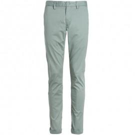 Pantalon Chino slim Stretch Vert Homme Teddy Smith
