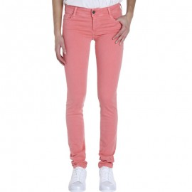 Jean PIN UP 3 Slim galbant Rose Femme Teddy Smith