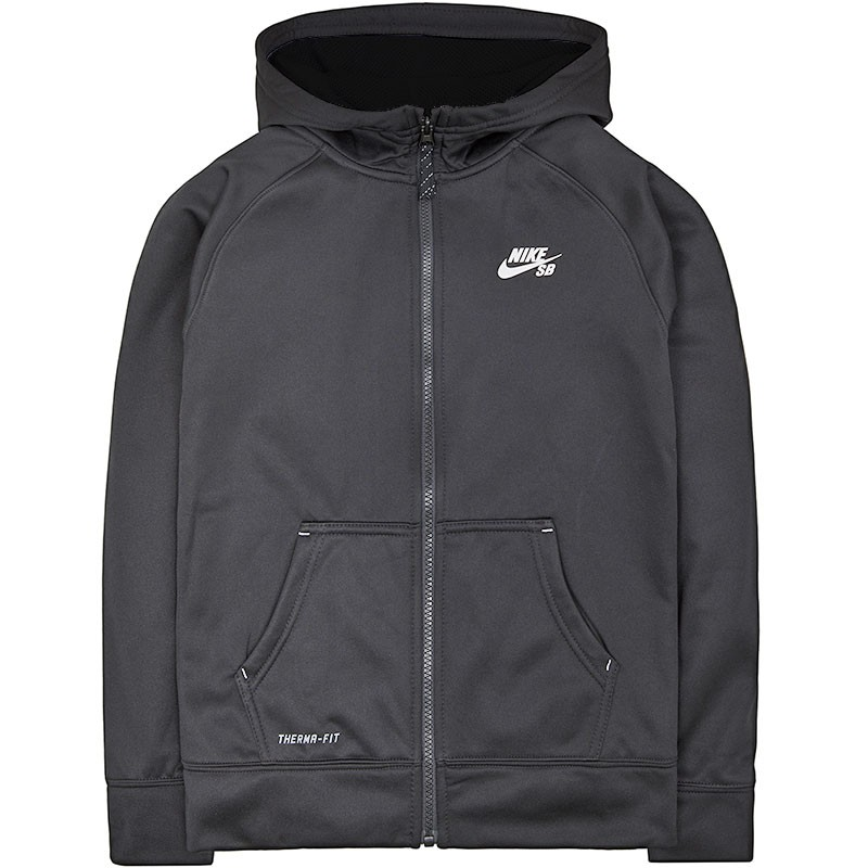Veste-SOLID-THERMA-FIT-Gris-Garcon-Nike