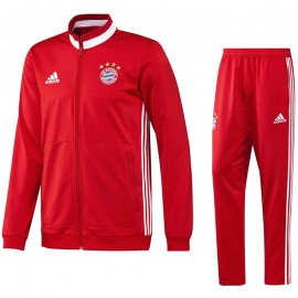 Survêtement Bayern de Munich Football Rouge  Homme Adidas