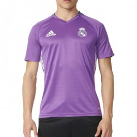 Maillot Entrainement Real Madrid Football Violet Homme Adidas