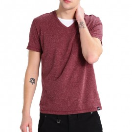 Tee Shirt CIAO Bordeaux Homme Kaporal