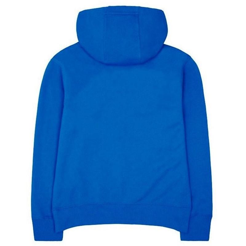 sweat capuche logo fleece bleu gar on nike sweats. Black Bedroom Furniture Sets. Home Design Ideas