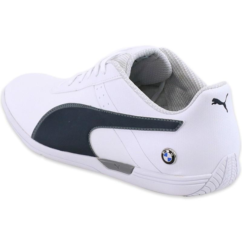 Chaussures BMW MS MCH Blanc Homme Puma Baskets