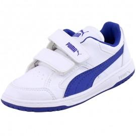 Chaussures REBOUND V2 LOW Blanc Bébé Garçon Puma