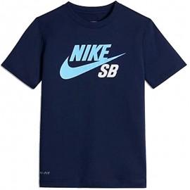 Tee-shirt ICON LOGO Marine Garçon Nike