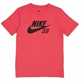 Tee-shirt ICON LOGO Rouge Garçon Nike