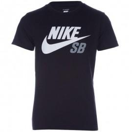 Tee-shirt Dri-fit ICON LOGO Noir Garçon Nike