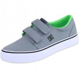 Chaussures Trase V Gris Garçon DC Shoes