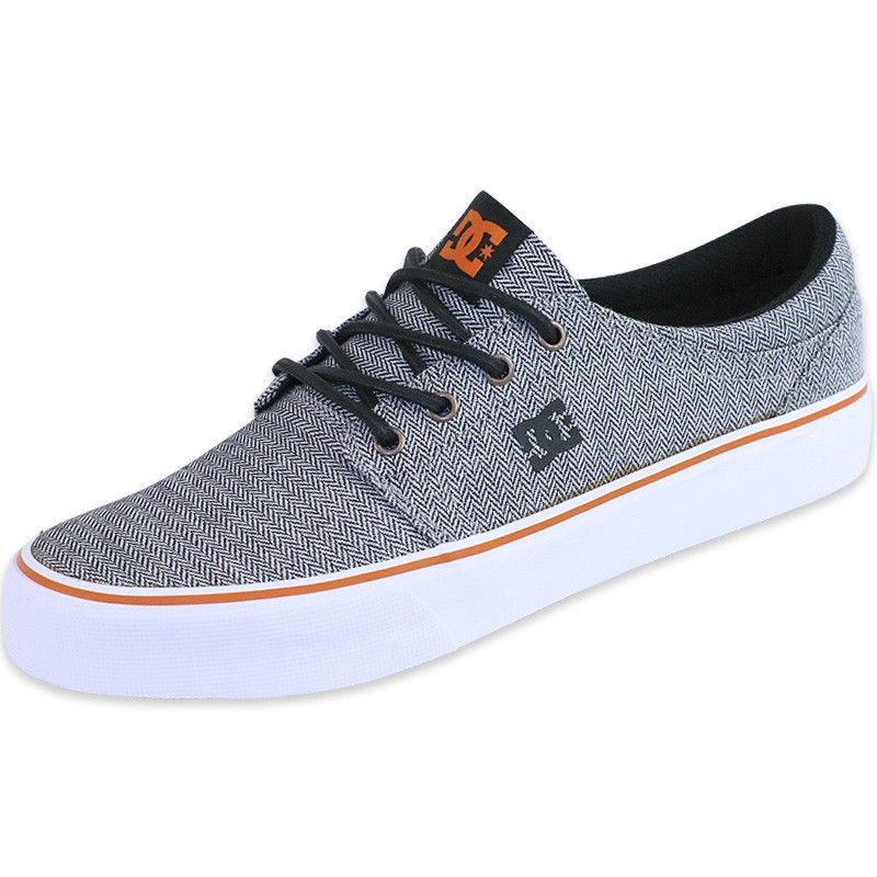 chaussures trase tx gris homme dc shoes baskets. Black Bedroom Furniture Sets. Home Design Ideas