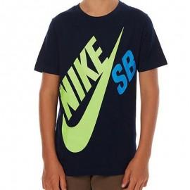 Tee-shirt BIG LOGO Marine Garçon Nike