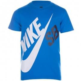 Tee-shirt BIG LOGO Bleu Garçon Nike