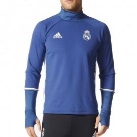 Sweat Real Madrid Football Bleu Homme Adidas
