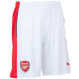 Short AFC REPLICA Football Blanc Arsenal Homme Puma
