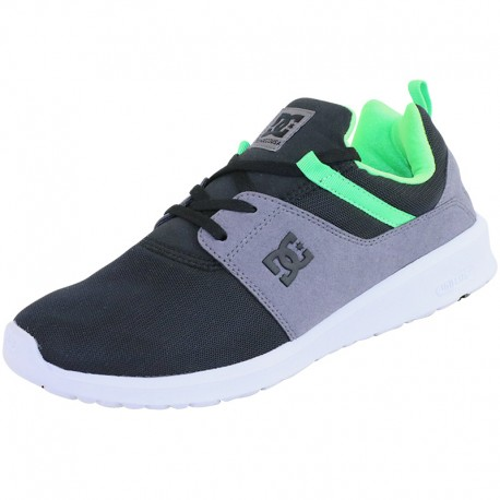 Chaussures DC Shoes Heathrow grises Skater homme 7ffilWj