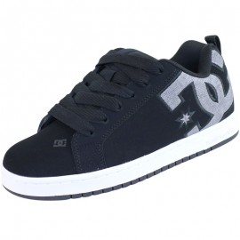 Chaussures Court Graphic Noir Skateboard Homme DC Shoes