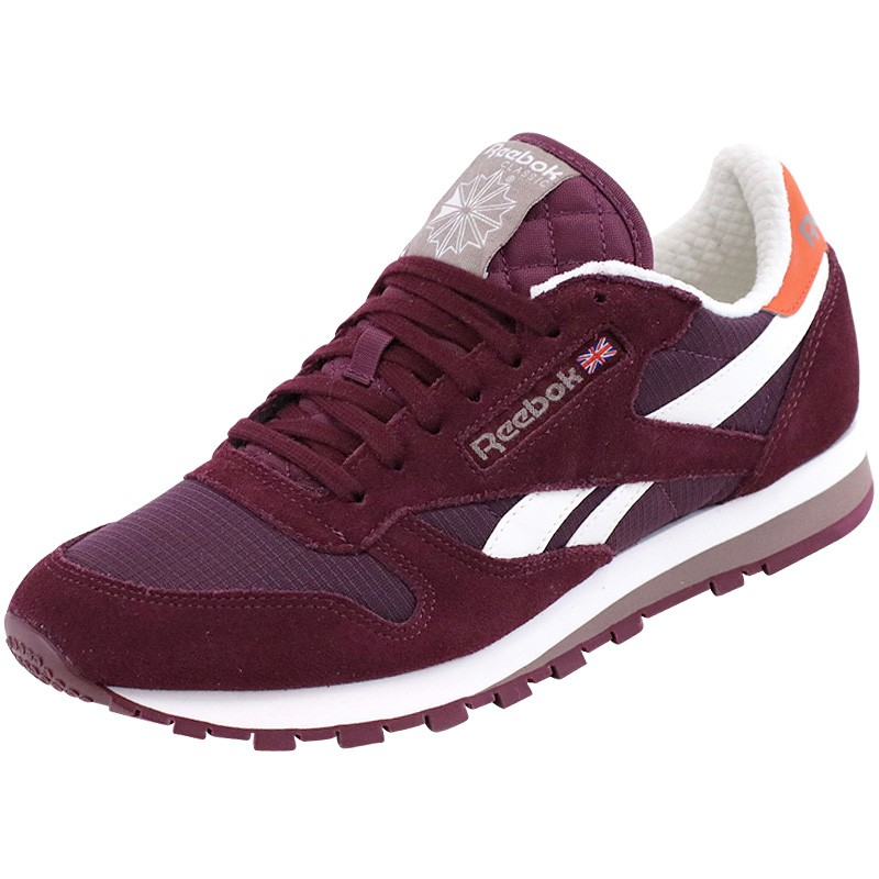 Bordeaux Camp Leather Homme Chaussures Reebok Baskets Cl Cw8nUHqtxA