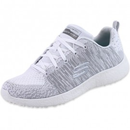 Chaussures First Glimps Blanc Femme Skechers