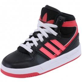 Chaussures Court Attitude Noir Garçon Adidas