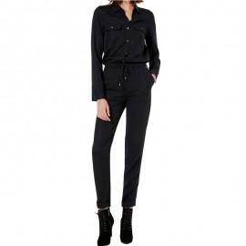 Combinaison ROVIA Noir Femme Pépé Jeans