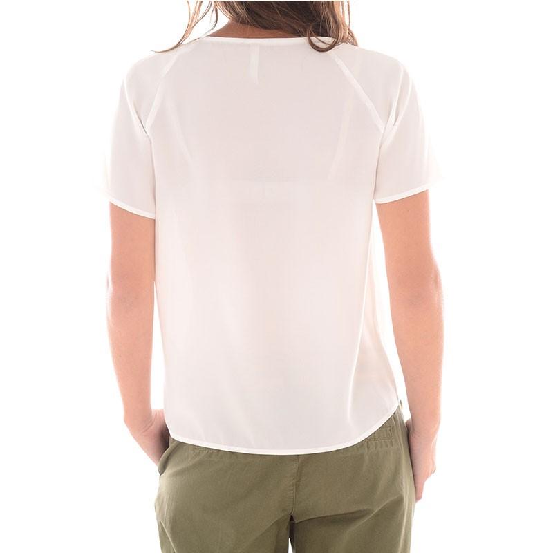 tee shirt sessa blanc femme p p jeans t shirts. Black Bedroom Furniture Sets. Home Design Ideas