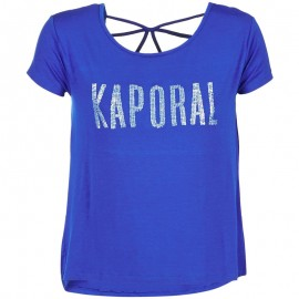 Tee-shirt NIZA Bleu Femme Kaporal