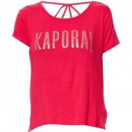 Tee-shirt NIZA Rouge Femme Kaporal