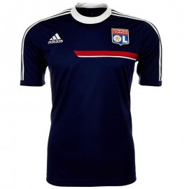 Maillot Entrainement Olympique Lyonnais Bleu Football Homme Adidas