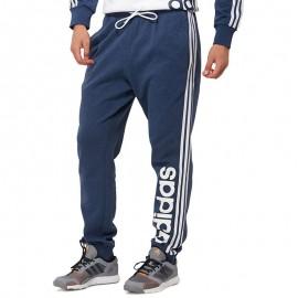 Jogging Essential 3 Stripe Bleu Sport Homme Adidas