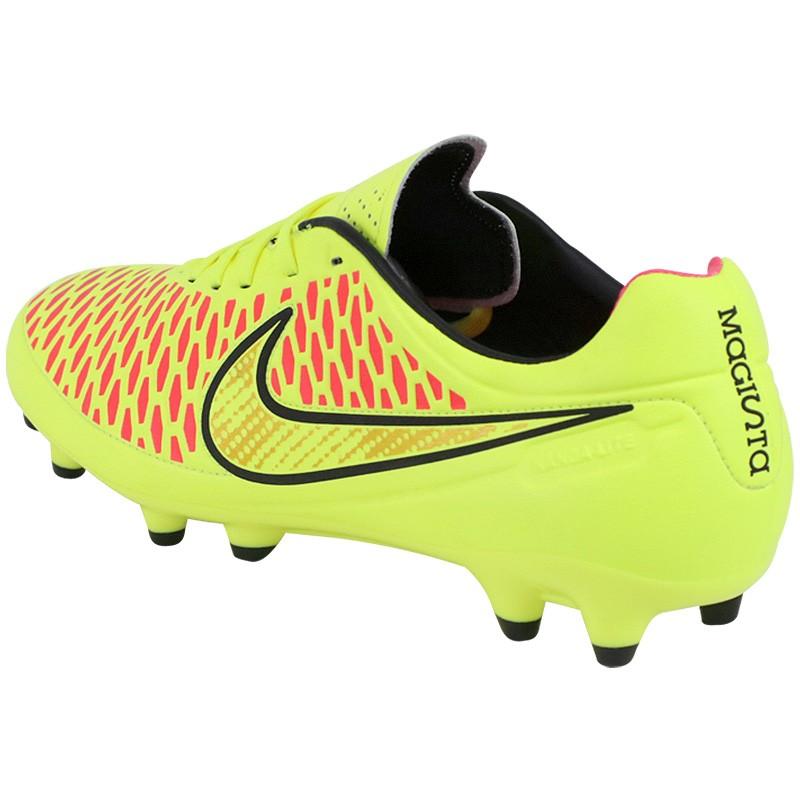 more photos 353fa fa4da Chaussures Magista Orden FG Jaune Football Homme Nike
