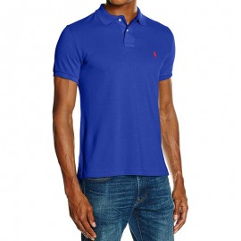 Polo Classic Bleu Homme Ralph Lauren