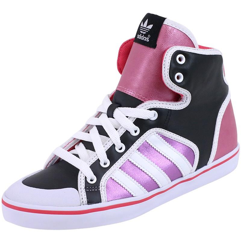 Chaussures Honey Hoop Noir Femme Adidas Baskets