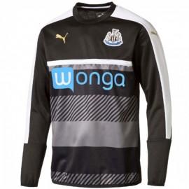 Sweat Entrainement Newcastle United Noir Football Homme Puma