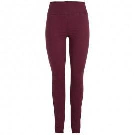 Pantalon Legging Rouge Femme Pieces
