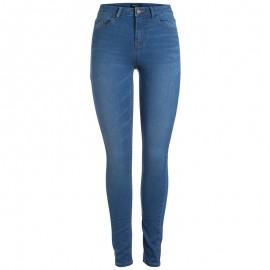 Pantalon Legging Bleu Femme Pieces