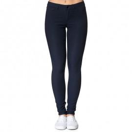 Pantalon Legging Just Wear Bleu Femme Pieces
