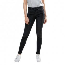 Pantalon Jean Five Abby Noir Femme Pieces