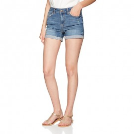 Short Jean Five Delly Bleu Femme Pieces