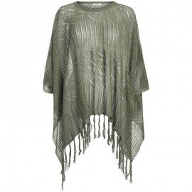 Poncho Sidsel Vert Femme Pieces