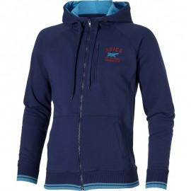Veste Logo Full Zip Bleu Running Homme Asics