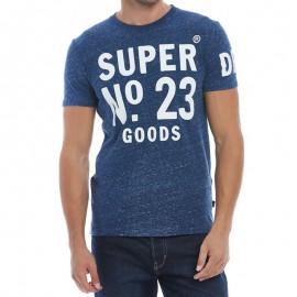 Tee Shirt N0 23 Bleu Homme Superdry