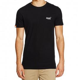 Tee Shirt Orange Label Vintage EMB Homme Superdry