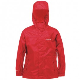 Coupe-Vent Imperméable Pack It Rouge Enfants Regatta