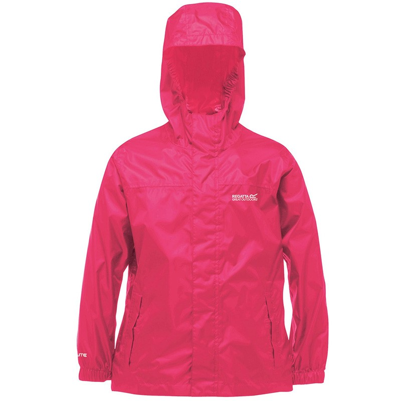 Coupe-Vent Imperméable Pack It Rose Enfants Regatta