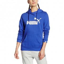 Sweat Essential N°1 Bleu Femme Puma