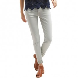 Pantalon Chino Slim SOHO Femme Beige Pépé Jeans